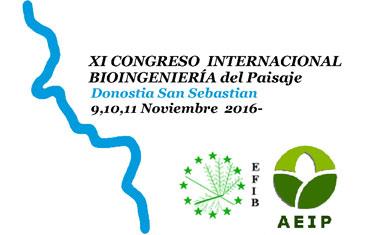 XI Congreso Internacional de Bioingeniería del Paisaje