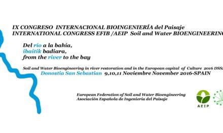 Conclusiones IX Congreso Internacional de Bioingeniería del Paisaje