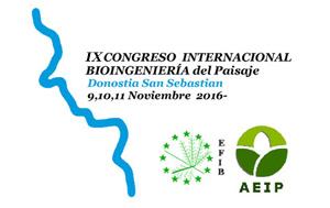 IX Congreso Internacional de Bioingeniería del Paisaje
