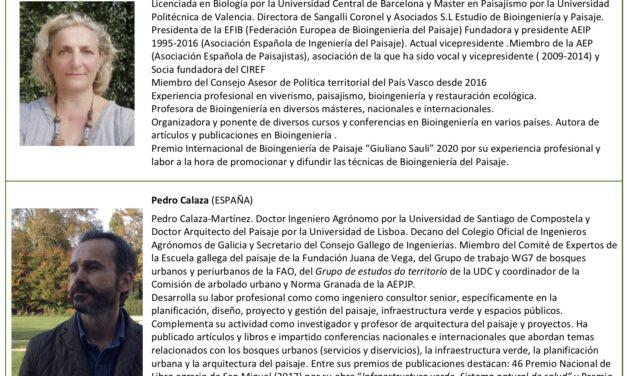 Webinar 6: La Infraestructura Verde y la Bioingeniería del Paisaje